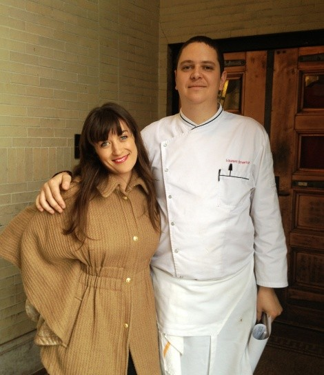 Webb with Church & State Executive Chef, Laurent Elmerich
